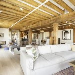 Faraway Foray In Tribeca Downtown New York on Modern Sauna In The Townhouse With Loft Design