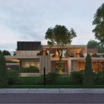 Country villa in Monteuil by Alexandra Fedorova 10