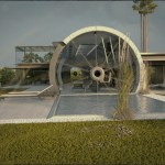 Concrete Tube House by Razvan Barsan + Partners 02