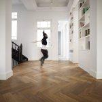 Residential Herringbone project by Dennebos Flooring 02
