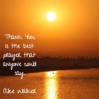 Alice Walker: On the Best Prayer