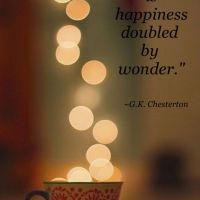 G K Chesterton: On Gratitude