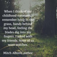 Mitch Albom: On Childhood Summers