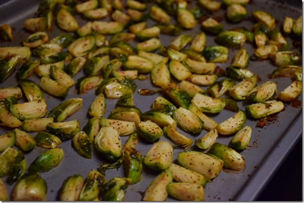 Maple Roasted Brussels Sprouts 2
