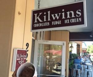 Kilwins ice cream downtown St. Petersburg