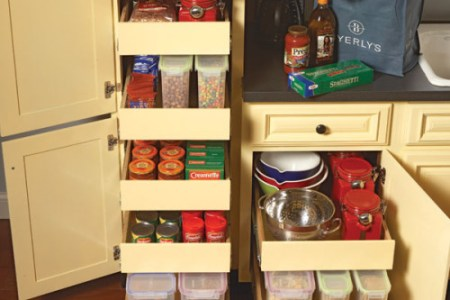 finding stylish and affordable kitchen storage cabinets