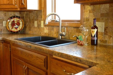 kitchen ceramic tile countertop ideas