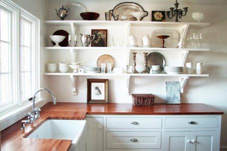 perfect open shelves kitchen design ideas