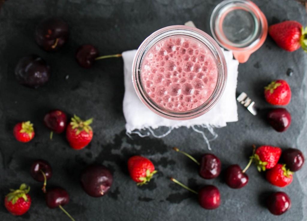 Red Smoothie - My Kitchen Love