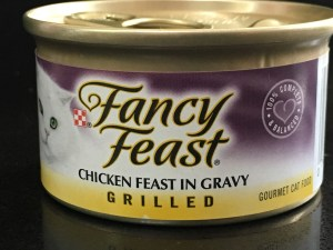 chicken cat food label
