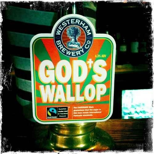 God's Wallop - Westerham Brewery