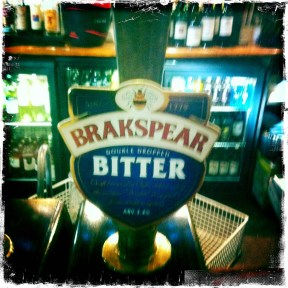 Brakspear Bitter (Double Dropped) - Brakspear Brewery (249)