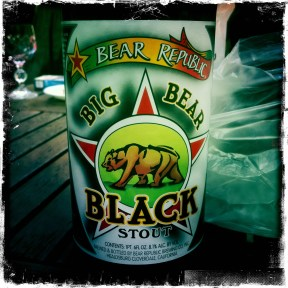 Big Bear Black Stout - Bear Republic Brewing Company (441)