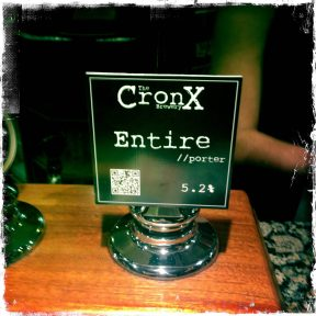 Entire Porter - The Cronx Brewery
