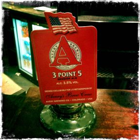 3 Point 5 Session Ale - Adnams (Avery) Brewery