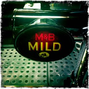 M&B Mild - William Worthington's (MolsonCoors) Brewery