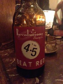 Beat Red - Revolutions Brewery