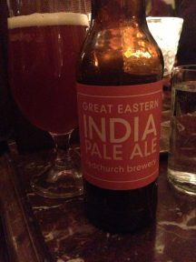 Great Eastern India Pale Ale - Redchurch Brewery