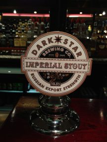 Imperial Stout - Dark Star Breweing Co