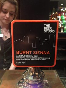 Burnt Sienna - Hydes (The Beer Studio) Brewery
