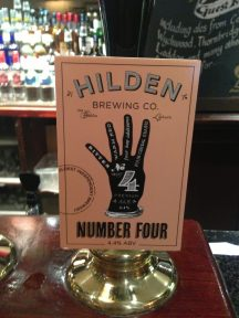 Number Four - Hilden Brewery