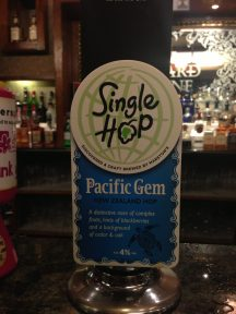 Single Hop Pacific Gem - Marstons Brewery