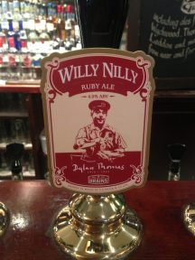 Willy Nilly - Brains Brewery