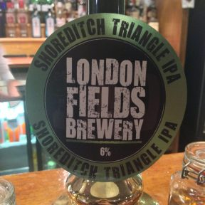 Shoreditch Triangle IPA - London Fields Brewery