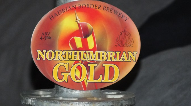 Northumbrian Gold - Hadrian Border Brewery