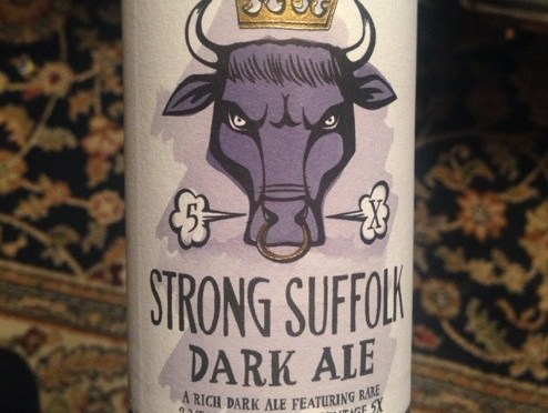 Strong Suffolk Dark Ale – Greene King Brewery