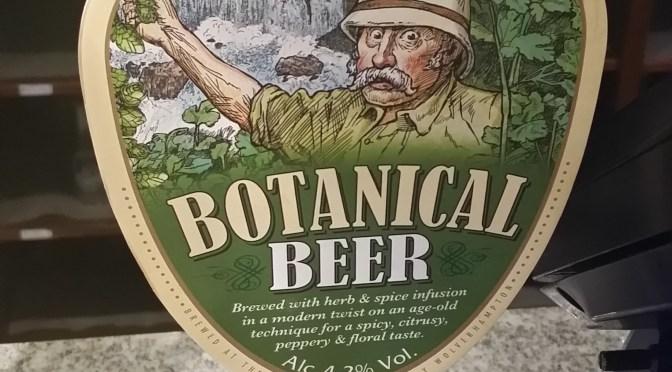 Botanical Beer – Bank's (Marston's) Brewery
