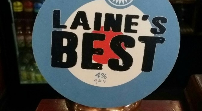 Laine's Best – Laine's Brewery