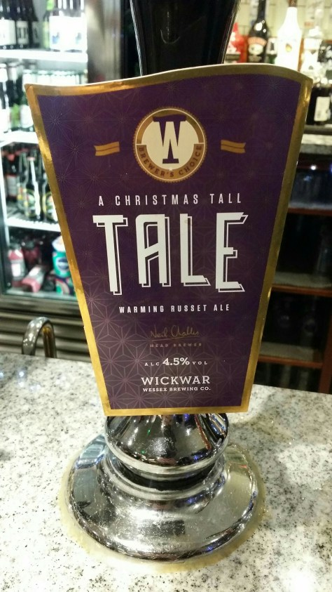 A Christmas Tall Tale - Wickwar Wessex Brewing Co.