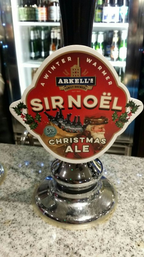 Sir Noël Christmas Ale - Arkell's Family Brewers