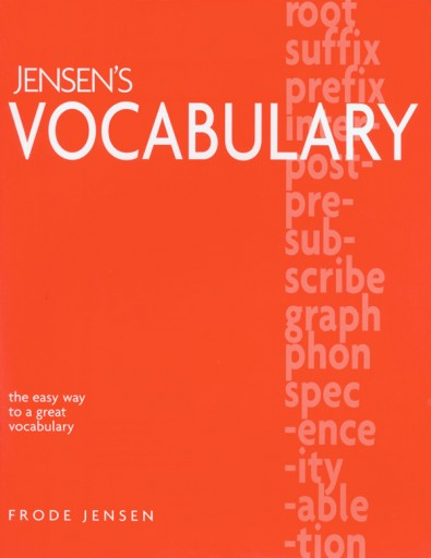 Jensens Vocabulary mylearningtable.com