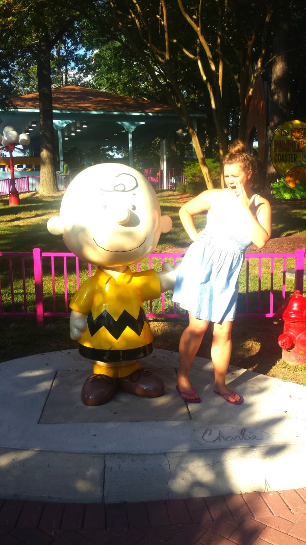 Charlie Brown at Planet Snoopy, King's Dominion