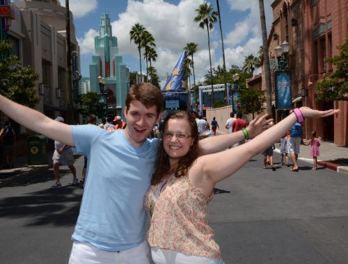 Hollywood Studios Mickey hat at Walt Disney World