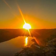 Plett sunset colored mode