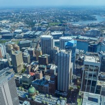 sydney tower above