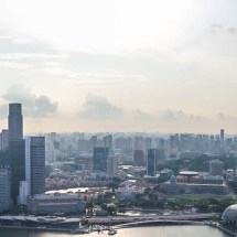 Marina Bay Sands city pano