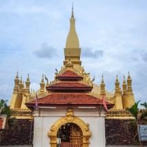 entrance golden stupa