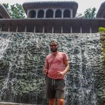 Chandigarh-waterfall