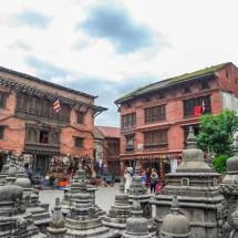Kathmandu-Swayambhu houses