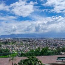 Kopan-view on Kathmandu valley