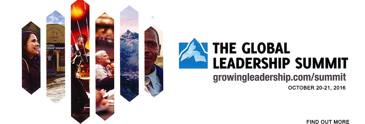 Global Leadership Summit Banner