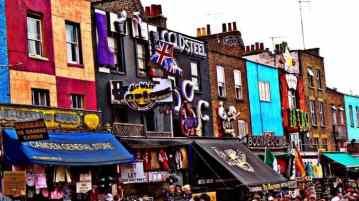 I mercatini di Camden Town a Londra