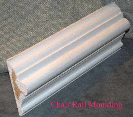 """Chair Rail Moulding"""