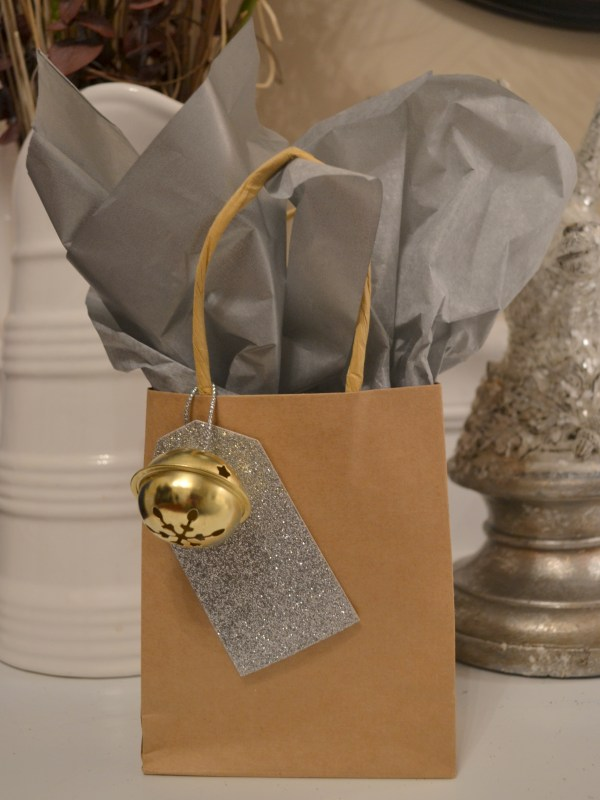 Silver & Gold Favor Bag
