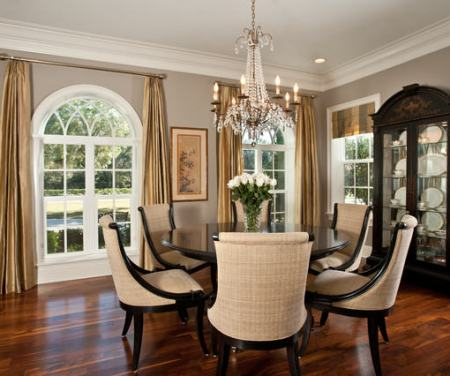 """classic traditional dining room"""