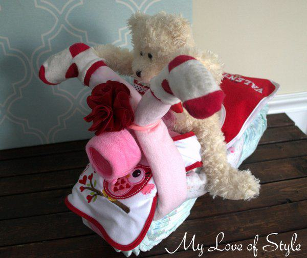 motorcycle diaper cake tutorial